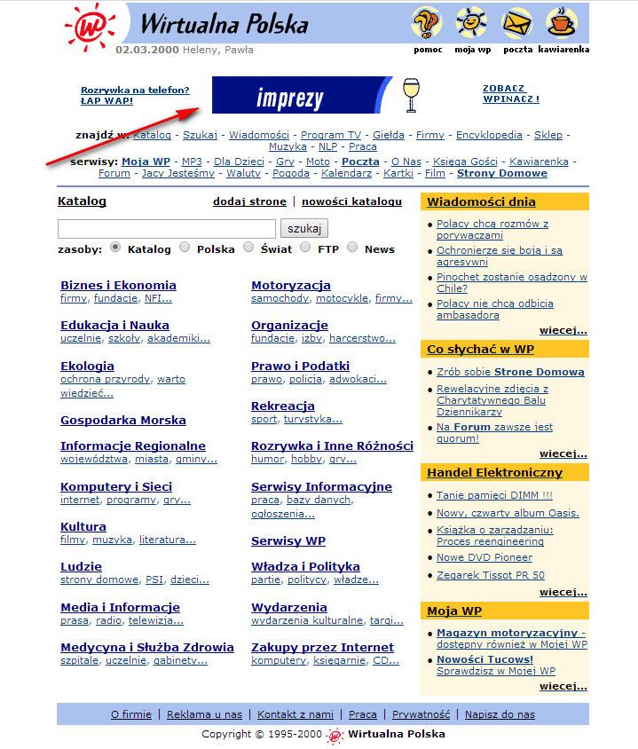 Wirtualna Polska, rok 2000