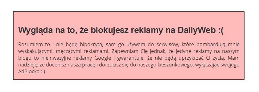 komunikat - dailyweb.pl